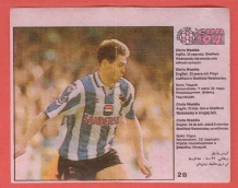 Sheffield Wednesday Chris Waddle England 28